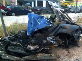 Φωτογραφία για Βοιωτία: 19χρονος απανθρακώθηκε μέσα στο αυτοκίνητό του