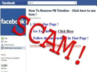 Φωτογραφία για ΠΡΟΣΟΧΗ: Νέες απάτες στο Facebook που υπόσχονται να αφαιρέσουν το Timeline!