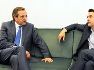 Φωτογραφία για Προς συμφωνία για ντιμπέιτ Σαμαρά – Τσίπρα