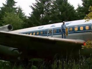 Φωτογραφία για Μετέτρεψε αεροσκάφος της Ολυμπιακής σε σπίτι σε δάσος του Όρεγκον![ΦΩΤΟ]