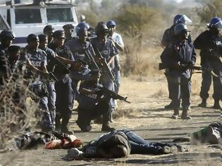 Φωτογραφία για Ν. Αφρική: 40 νεκροί σε συγκρούσεις αστυνομικών και απεργών..Τα επεισόδια σημειώθηκαν σε ορυχείο - Οι εργαζόμενοι ζητούν αυξήσεις.