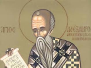 Φωτογραφία για Ο Άγιος Αλέξανδρος αρχιεπίσκοπος Κωνσταντινουπόλεως – 30 Αυγούστου...!!!