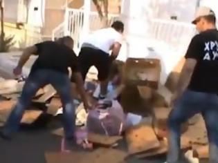 Φωτογραφία για Νέο ΝΤΟΥ της Χρυσής Αυγής σε λαϊκή του Μεσολογγίου [video]
