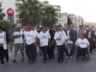 Φωτογραφία για Ξεκίνησε από τον Βόλο η πεζοπορία των εμπορευματοβιοτεχνών προς την Αθήνα [video]