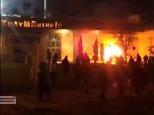 Φωτογραφία για Πήρε φωτιά η Τούμπα - Επεισόδια και Μολότοφ - 2 βιντεο