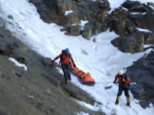 Συνεχίζονται οι έρευνες για τον ορειβάτη...