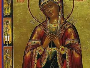 Φωτογραφία για Η Θαυματουργή εικόνα της Παναγίας με τα επτά σπαθιά