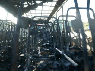 Φωτογραφία για Πως πήρε φωτιά το λεωφορείο στην Εγνατία και πως γλίτωσαν 54 Ρώσοι...