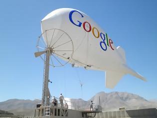 Φωτογραφία για Αερόστατα της Google θα παρέχουν ίντερνετ σε κάθε γωνιά της γης