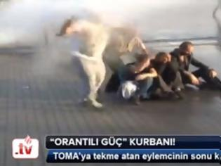Φωτογραφία για ΣΟΚ στη διεθνή κοινή γνώμη - Βίντεο καταγράφει την εν ψυχρώ δολοφονία διαδηλωτή στη πλ. Ταξίμ - Συγκλονιστικές εικόνες