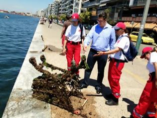 Φωτογραφία για Θεσσαλονίκη: Από νάρκες μέχρι μπάζα στο βυθό της θάλασσας! ΦΩΤΟ