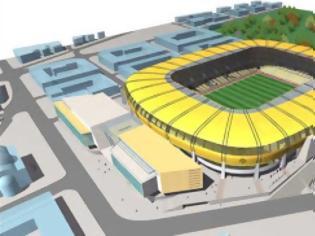 Φωτογραφία για Προχωρούν τα σχέδια για το γήπεδο της ΑΕΚ