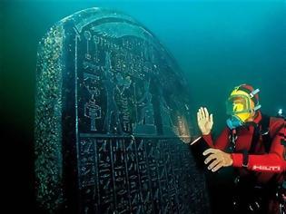 Φωτογραφία για ΔΕΙΤΕ: Ανακαλυφθηκε βυθισμενη πολη που ενωνε την Ελλαδα με την Αιγυπτο!   M