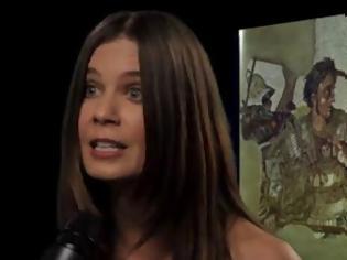 Φωτογραφία για Η Κατερίνα Μουτσάτσου σε ένα βιντεάκι με ελληνική ψυχή - Ψυχάρα...